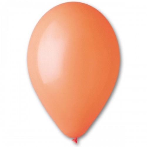 """10""""(25см) шар латексный пастель оранжевый/04 (100шт) Gemar (Италия)"""
