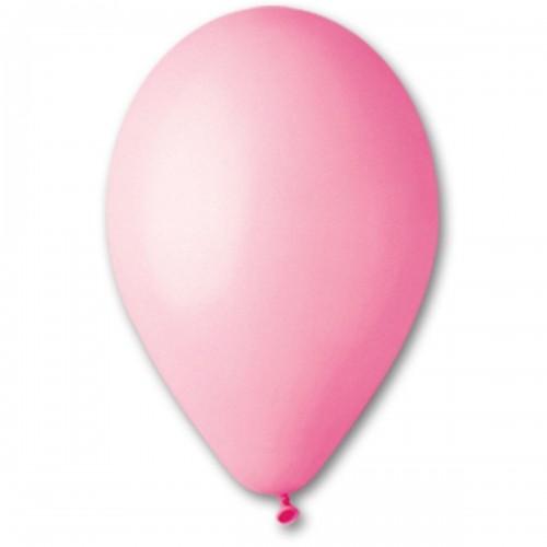 """10""""(25см) шар латексный пастель розовый/06 (100шт) Gemar (Италия)"""