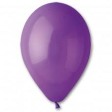 """10""""(25см) шар латексный пастель фиолетовый/08 (100шт) Gemar (Италия)"""