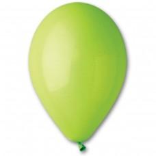 """10""""(25см) шар латексный пастель салатовый/11 (100шт) Gemar (Италия)"""