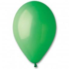 """10""""(25см) шар латексный пастель зеленый/12 (100шт) Gemar (Италия)"""