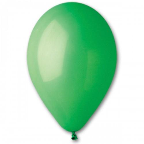 """12""""(30см) шар латексный пастель зеленый/12 (100шт) Gemar (Италия)"""