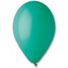 """10""""(25см) шар латексный пастель темно-зеленый/13 (100шт) Gemar (Италия)"""