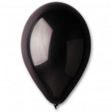 """10""""(25см) шар латексный  пастель черный/14 (100шт) Gemar (Италия)"""