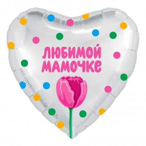 "18""(45см) Тюльпан сердце (AG)"