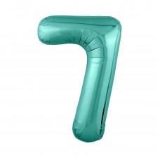 Agura фольг цифра Slim 7 бискайский зеленый 102 см (в уп)