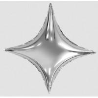 """AG 37"""" (94см) зірка 4х кінцева Сіріус срібний"""