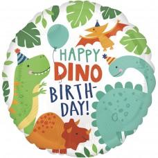 """18"""" (45см) НВ Вечеринка динозавров AN (США)"""