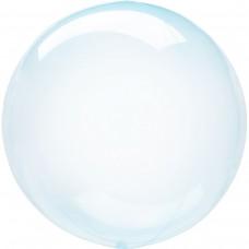 Сфера прозрачная голубая crystal clearz blue (45см) Anagram