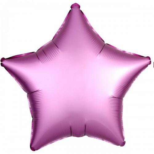 """AN 18"""" звезда сатин фламинго"""