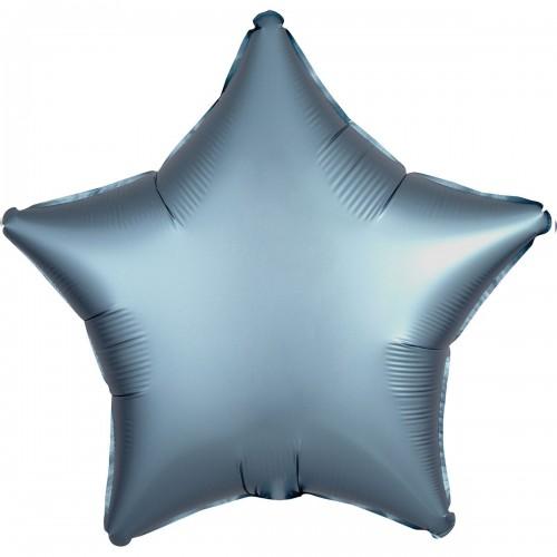 """AN 18"""" звезда сатин синяя сталь"""