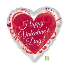 """24"""" (62см) Happy Valentine`s Day (AN)"""