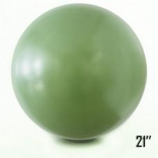 "21"" (53см) Латексный шар оливка (артшоу)"