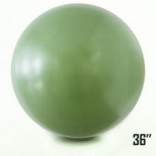 "36"" (91см) Латексный шар оливка (артшоу)"