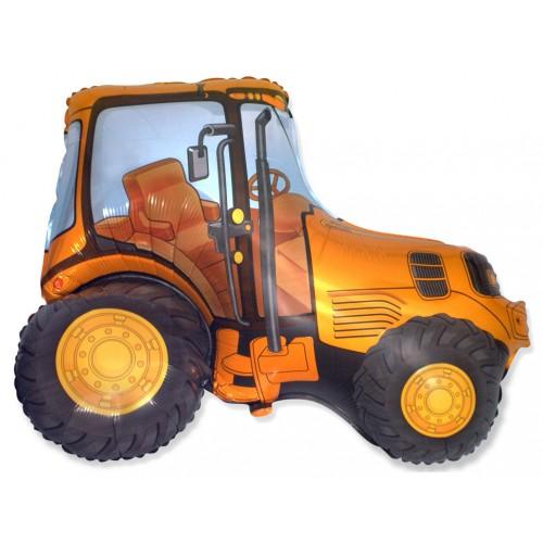 Фигура трактор оранжевый (fm БФ)