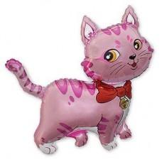 МФ Кошечка с бантом розовая (FM)