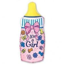Фигура Бутылка розовая (fm БФ)