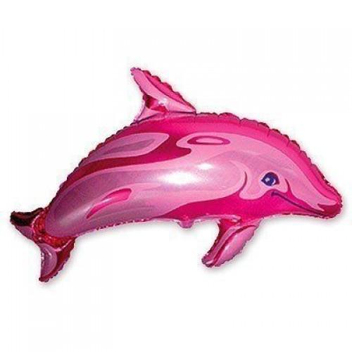Фигура дельфин розовый (fm БФ)