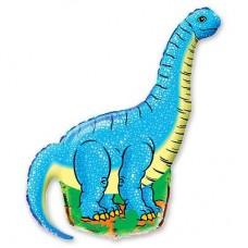 Фигура динозавр голубой (fm БФ)