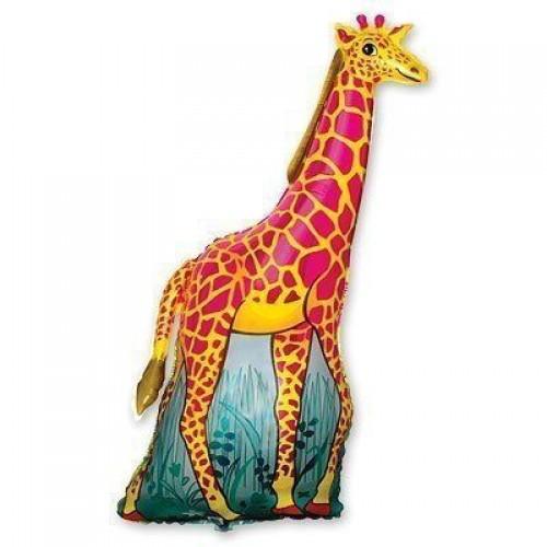 Фигура жираф оранжевый (fm БФ)