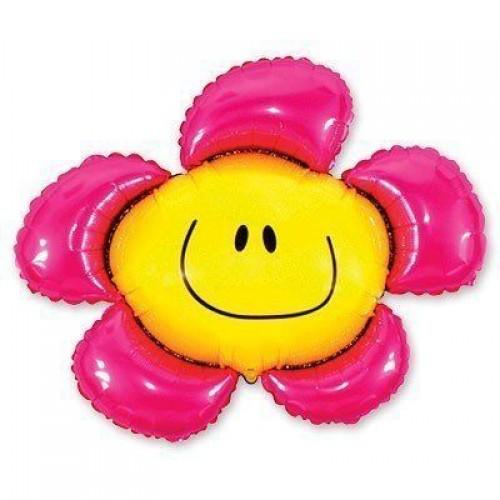 Фигура солнечная улыбка фуксия (fm БФ)