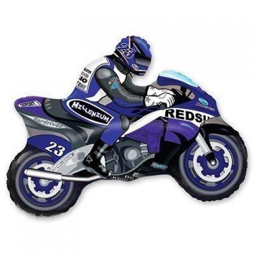 МФ Мотоциклист синий (FM)