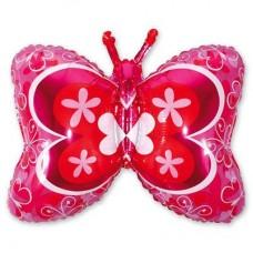 Фигура бабочка красная (fm БФ)