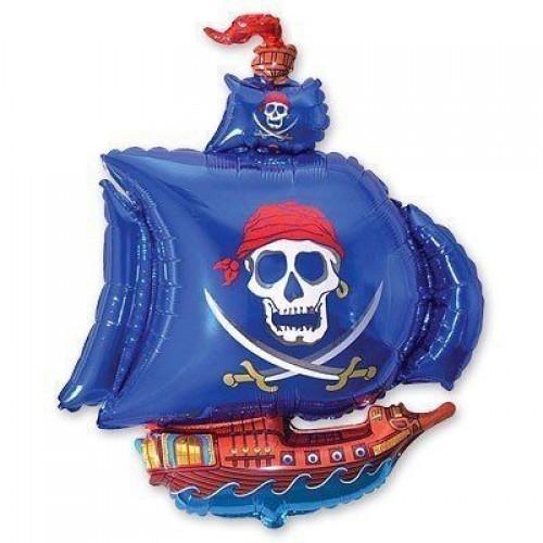 МФ корабль пиратский синий (FM)