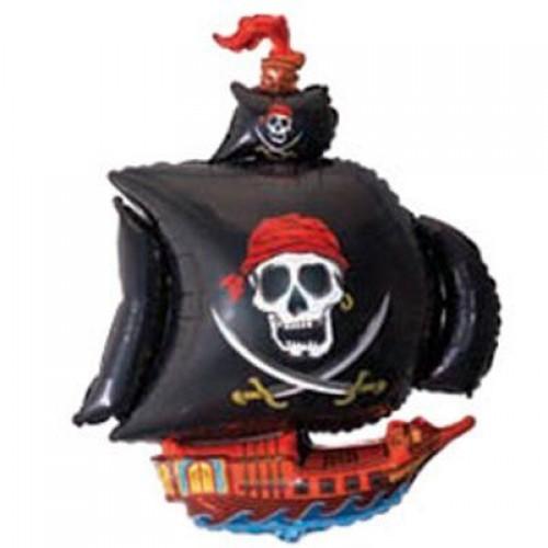 МФ корабель піратський чорний (FM)