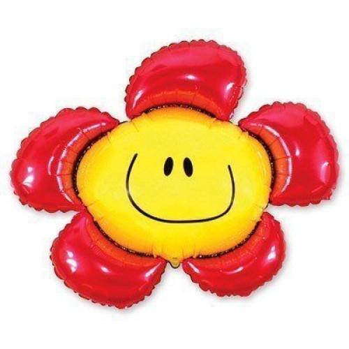 Фигура солнечная улыбка красная (fm БФ)
