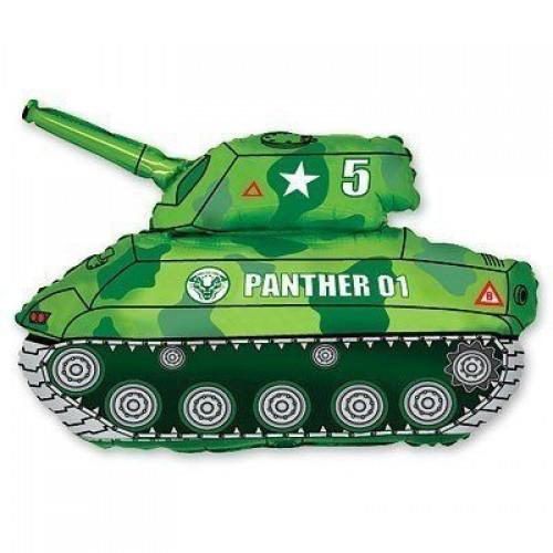 Фигура танк зеленый (fm БФ)