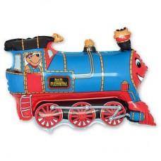 МФ поезд голубой (FM)
