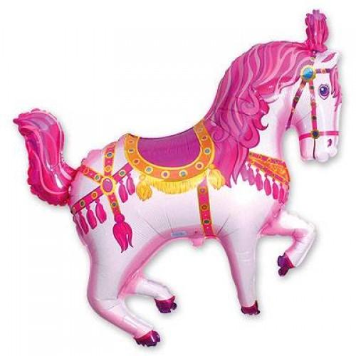 МФ лошадь цирковая розовая (FM)