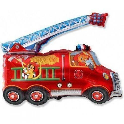 Фигура пожарная машина (fm БФ)