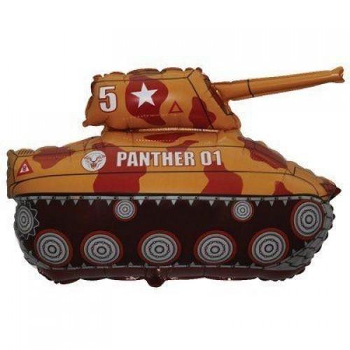 Фигура танк коричневый (fm БФ)