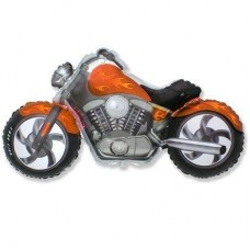 Фігура мотоцикл помаранчевий (fm БФ)
