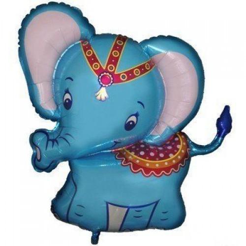 Фигура слоник голубой (fm БФ)