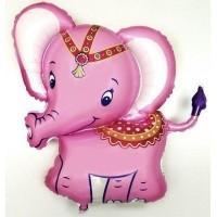 Фигура слоник розовый(fm БФ)