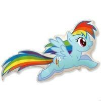 МиниФигура my little pony Рэйнбоу Дэш (fm Испания)
