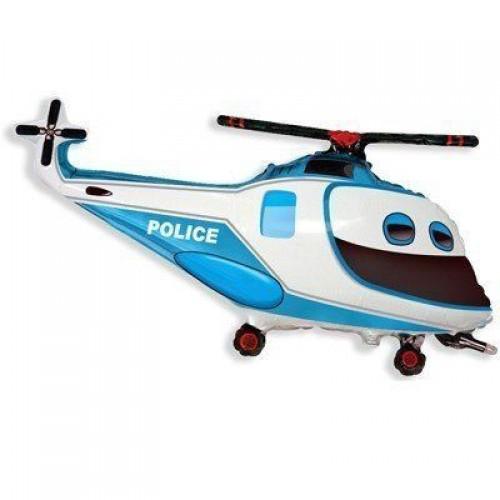 Фигура вертолет полиция  (fm БФ)