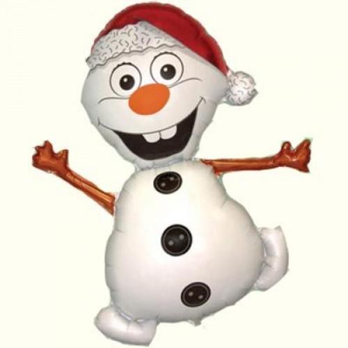 Фигура снеговик весёлый  (fm БФ)