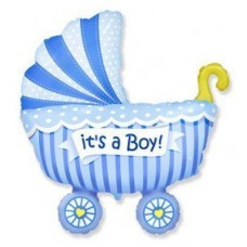 МФ коляска дитяча блакитна (FM)
