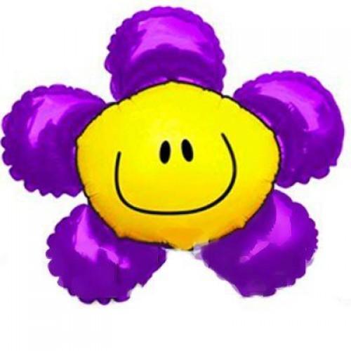 Фигура солнечная улыбка фиолетовая (fm БФ)