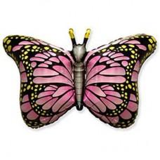 Фігура фольгированная Метелик рожеві крила (fm БФ)
