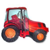 Фигура трактор красный (fm БФ)
