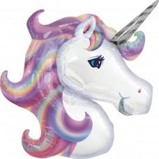 Единорог фиолетовый голова (AN БФ) США