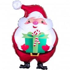 Куля фігура дід мороз з подарунком (AN БФ) США