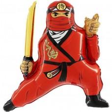 Фигура Ниндзя красный (Grabo Италия) БФ