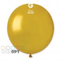 "G 18"" (46см)/39 металлик золото (1шт)"