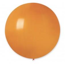 """18 """"(46см) куля латексна пастель помаранчева / 04 (1шт) Gemar (Італія)"""